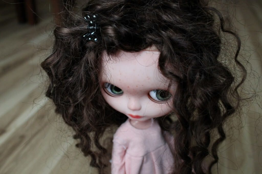 amanda - custom blythe doll for sale