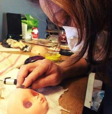 Blythe Doll Artist offers Custom Blythe Dolls for Sale