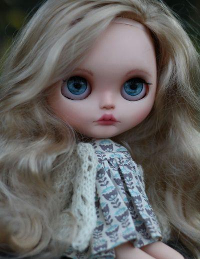 Blue Eyed Blythe Doll