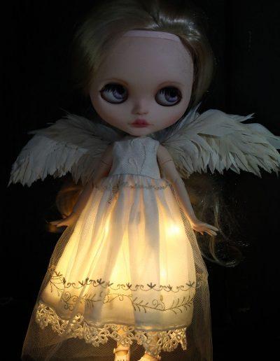 Angel Blythe - Harmonys wings and dress