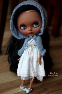 Blythe Doll - Reginas Hooded Poncho