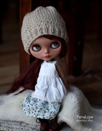 Blythe Doll Hat and Dress - Penelope