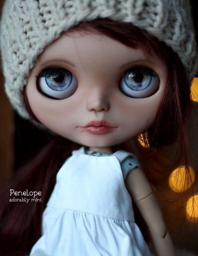 Blythe Custom OOAK Penelope with Hat
