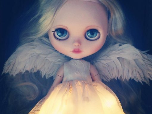 Blythe Angel Doll OOAK Harmony