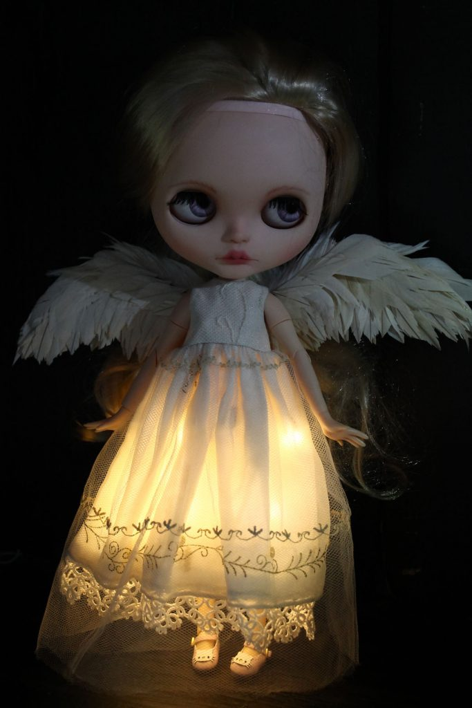 Angel Blythe - Harmonys wings and dress