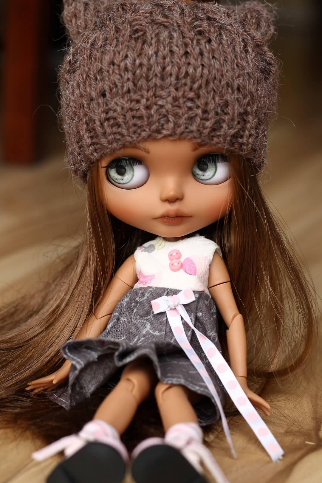 Custom Blythe Doll no 43 Hattie - 02