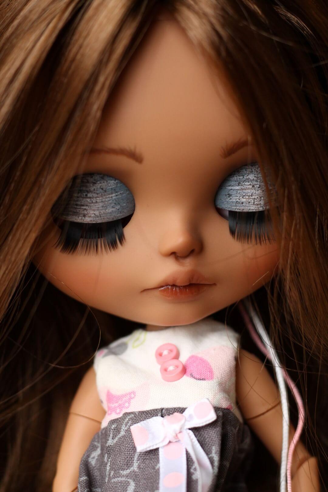 Custom Blythe Doll no 43 Hattie - 03