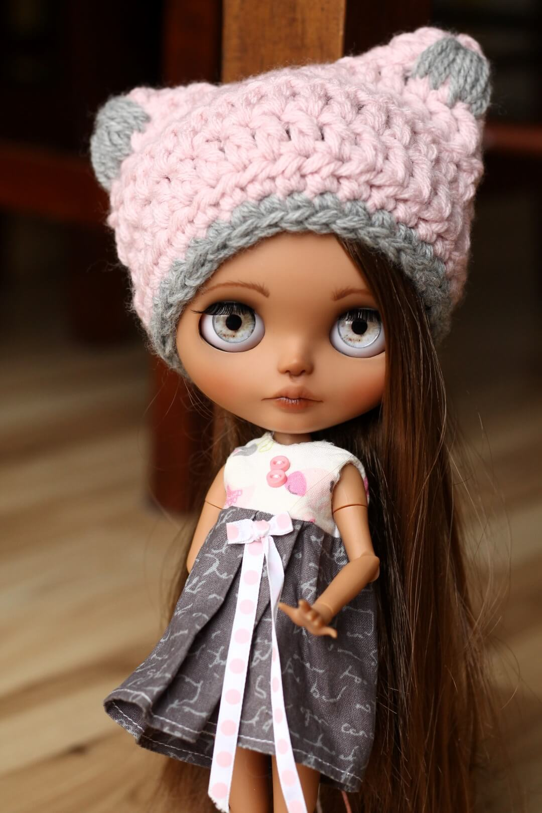 Custom Blythe Doll no 43 Hattie - 05