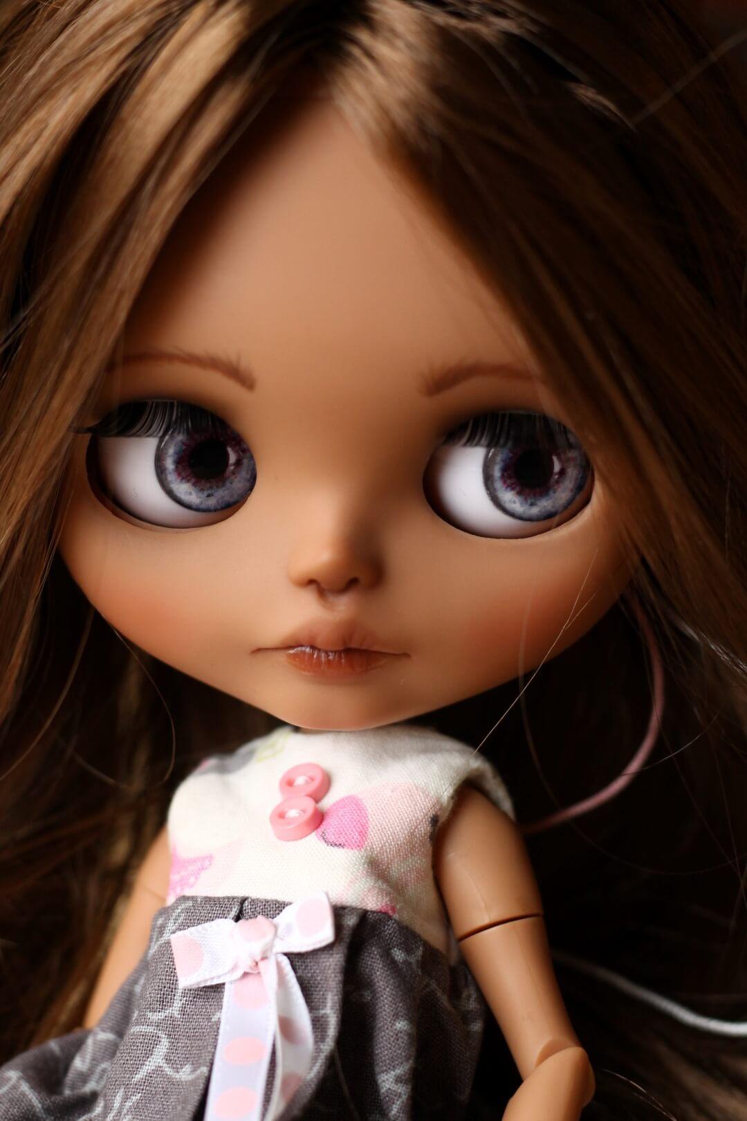 Custom Blythe Doll no 43 Hattie - 06