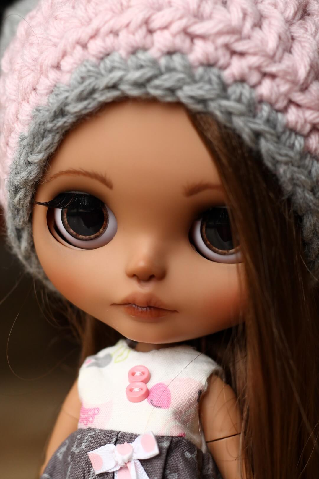 Custom Blythe Doll no 43 Hattie - 09