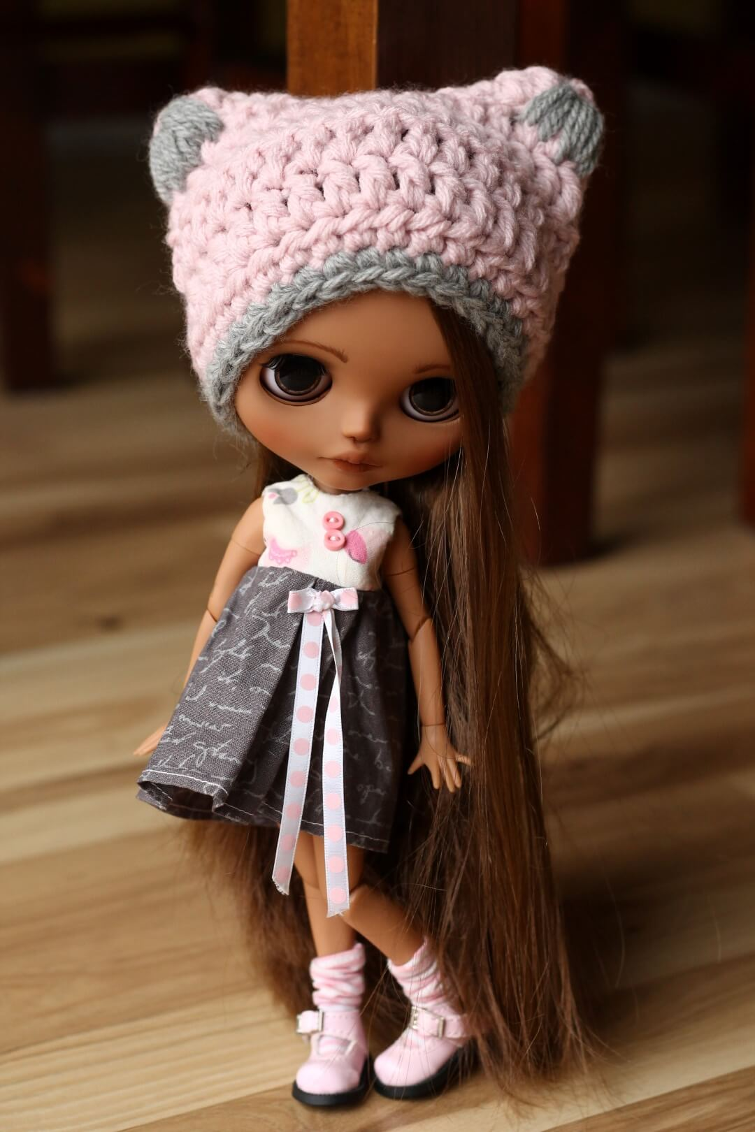 Custom Blythe Doll no 43 Hattie - 14