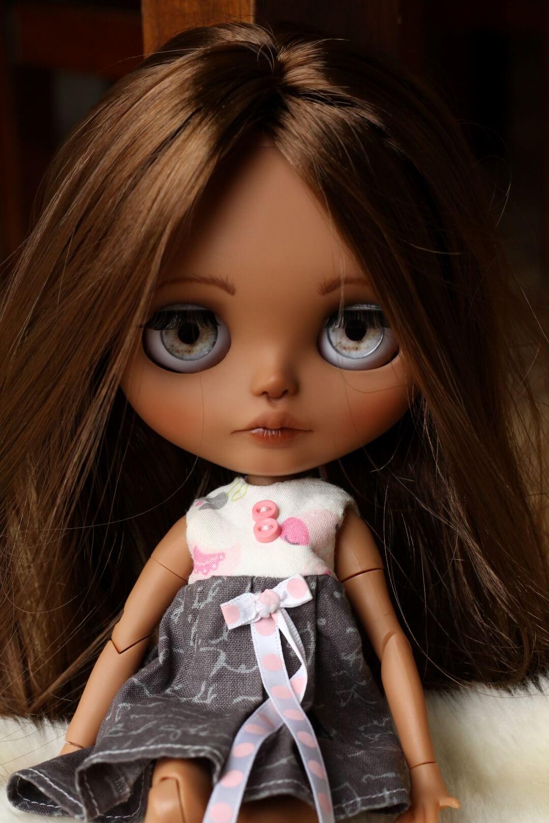 Custom Blythe Doll no 43 Hattie - 15