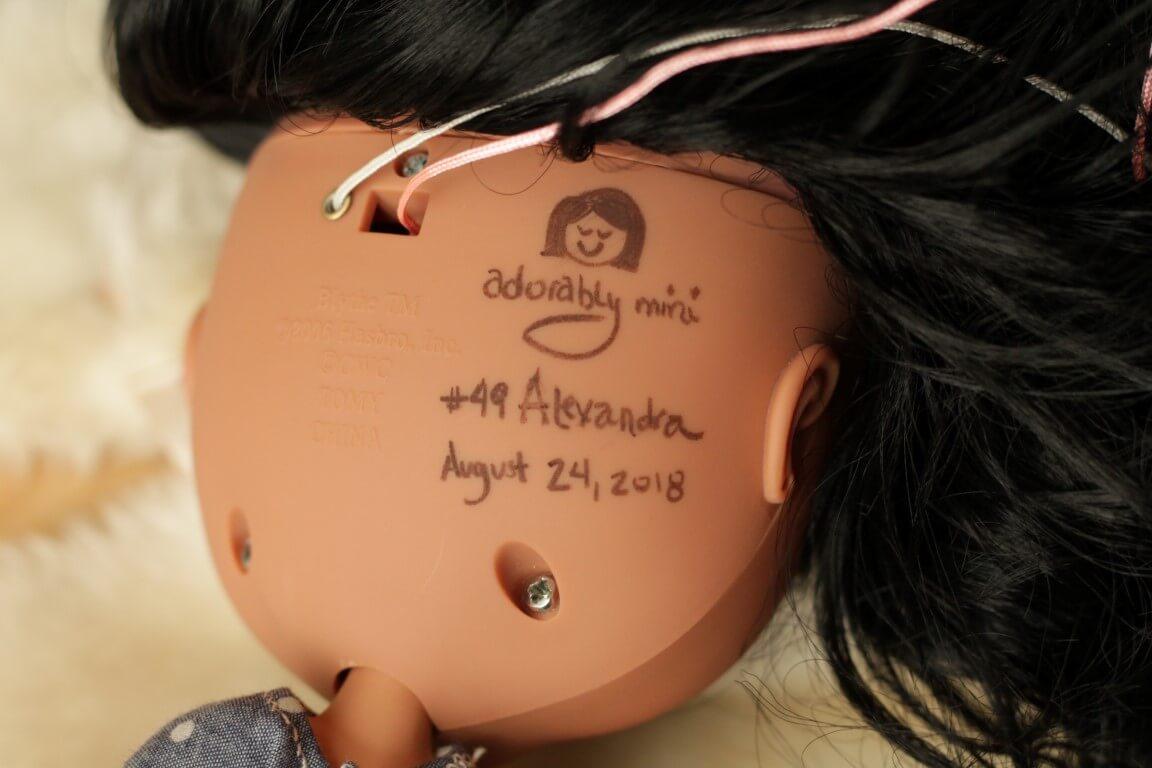 Custom Doll Alexandra 08