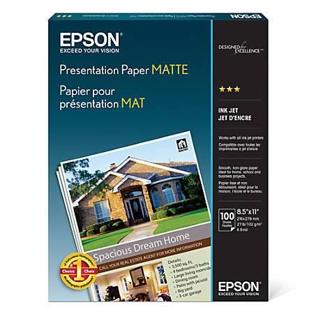 Epson Matte Paper for Blythe Eyechips