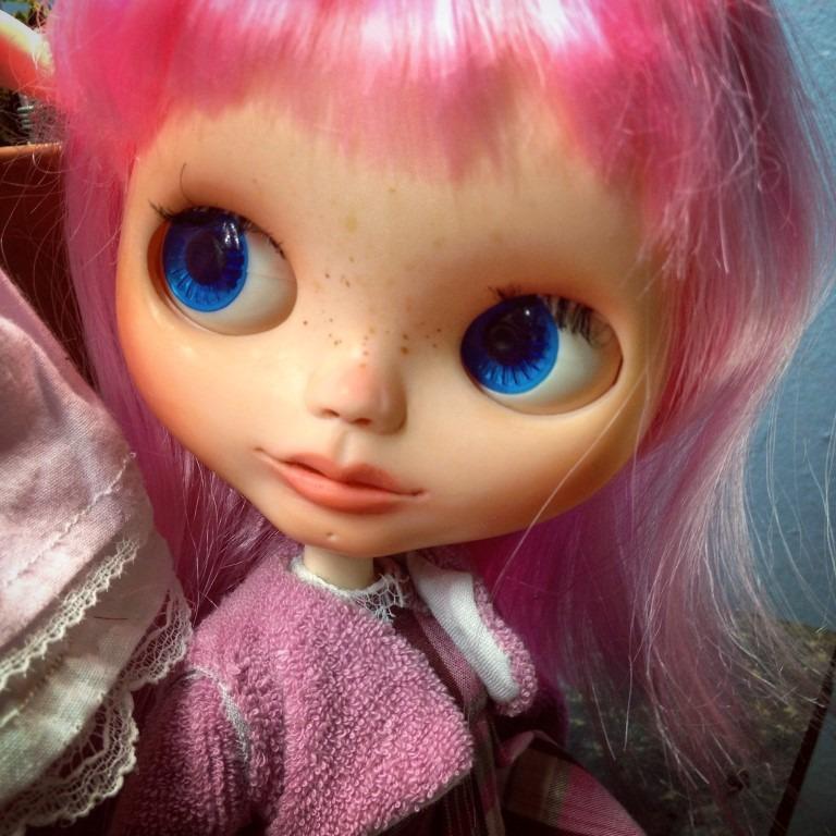 custom blythe doll