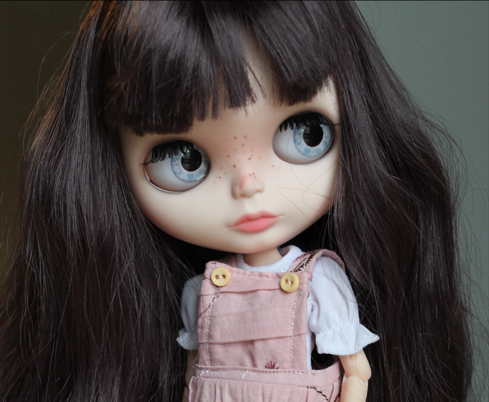 cassidy custom blythe doll