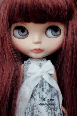 lilliana custom blythe doll